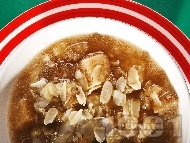 Бирена крем супа с червена леща